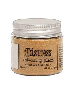 Tim Holtz Distress Embossing Glaze Antique Linen