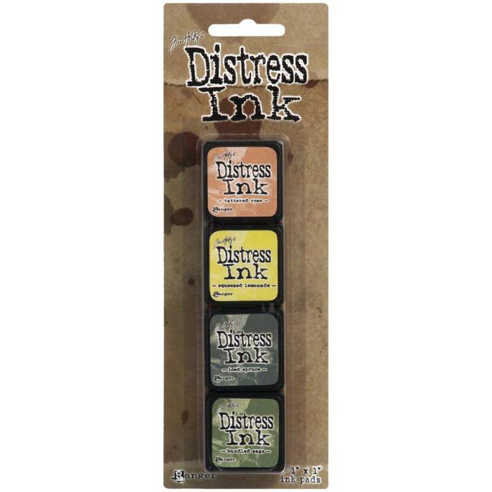 Distress Ink Pad MINI KIT #10