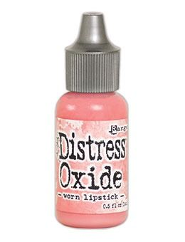 Tim Holtz Distress Oxides Reinkers Worn Lipstick