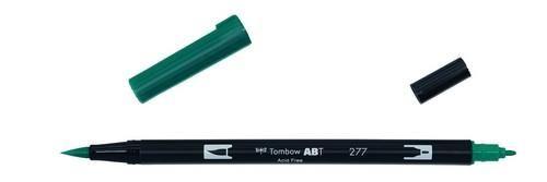 Tombow ABT dubbele brushpen dark green