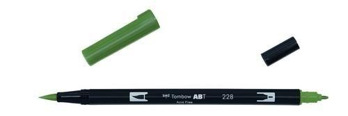 Tombow ABT dubbele brushpen grey green