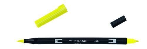 Tombow ABT dubbele brushpen process yellow