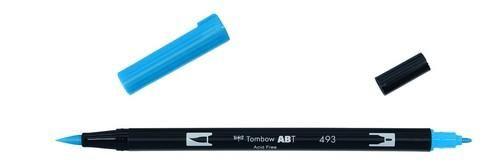 Tombow ABT dubbele brushpen reflex blue