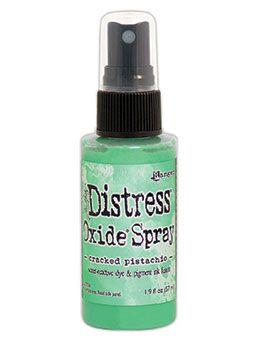 Pre-order Tim Holtz Distess Oxide Spray 2oz Cracked Pistachio