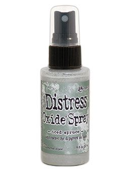 Pre-order Tim Holtz Distess Oxide Spray 2oz Iced Spruce