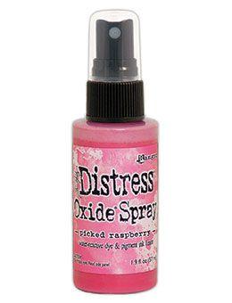 Pre-order Tim Holtz Distess Oxide Spray 2oz Picked Raspberry