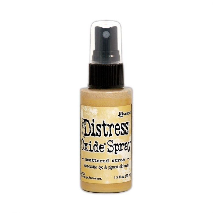 Tim Holtz Distress Oxide Spray Scattered Straw