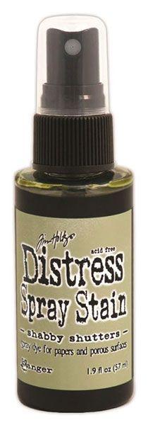 Tim Holtz Distress Spray Stain Shabby Shutters