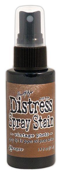 Tim Holtz Distress Spray Stain Vintage Photo