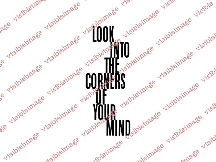 Visible Image Clear Stamp Corners Of Your Mind