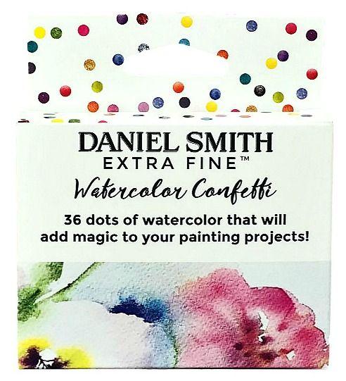 DANIEL SMITH Watercolor Confetti Dot Card Set