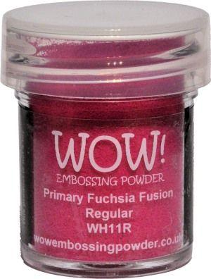 Wow! Embossing Powder Primary Colours Fuchsia Fusion